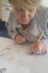Our volunteer, Caroline